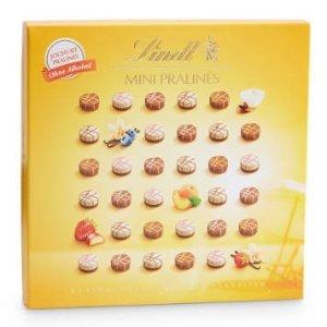 Lindt黄杏、草莓、蓝莓、覆盆子口味迷你巧克力