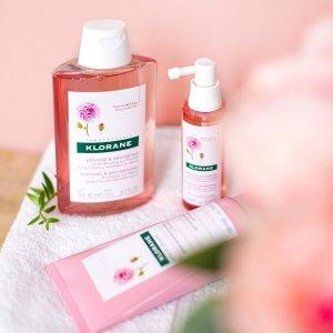 €9.9收金鸡纳防脱控油Klorane 洗发系列 来自法国的植物护理 无硅养发不假滑