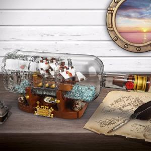 $59.97LEGO IDEAS 21313 Ship in a Bottle 962 piece set