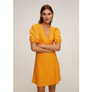MangoBow wrap dress - Women | Mango USA