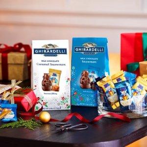 低至5折Ghirardelli 热销方形夹心、自选巧克力礼包促销