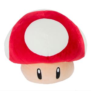$14.99 还有小龟壳,红帽子Club Mocchi Mocchi 超级玛丽系列毛绒抱枕/玩偶,多款选