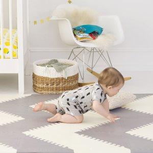$83.96(原价$90.95)Skip Hop 婴儿游戏垫 超大厚泡沫 安全无毒软垫 宝宝放心玩