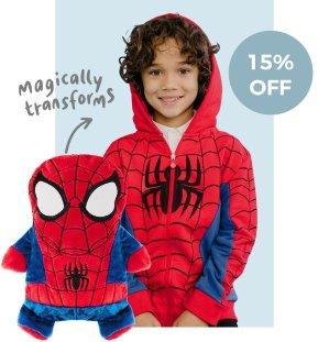 $42.5限今天:Cubcoats 蜘蛛侠2合1儿童外套促销