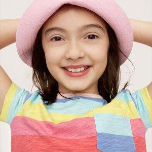 折扣升级:Gap 儿童特价区美衣折上折