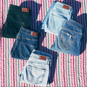 Starting From $12.99Girls Jeans Cl@ Hollister