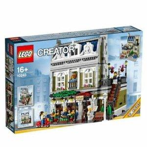 $169(原价$249)超值价:Lego乐高 街景系列巴黎餐厅 10243