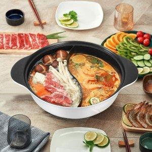 低至6折 £13收鸳鸯锅amazon 电火锅、鸳鸯锅精选 聚餐火锅烤肉走起 家的味道