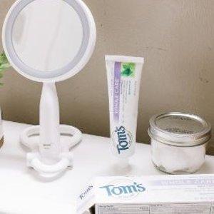 $3.78(原价$5.29)Tom's of Maine 无氟天然清新薄荷牙膏85ml