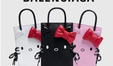巴黎世家 X Hello kitty 联名发售巴黎世家 X Hello kitty 联名发售