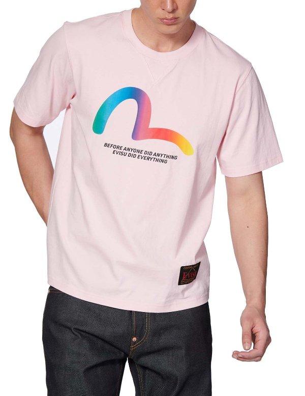 彩虹海鸥T恤