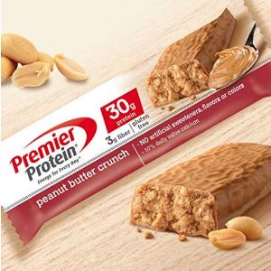 $3.31(原价$3.48)Premier 蛋白质能量棒 黄油花生口味 5只装