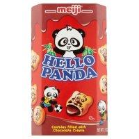 Meiji 夹心巧克力熊猫小饼干, 2.1 Oz