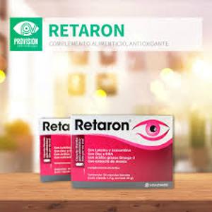 30粒折后€17.75 全面保护视力Retaron 护眼胶囊 缓解视疲劳 预防眼镜老化 学生党必备