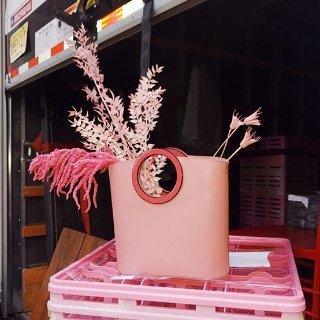 粉嫩嫩封面款kate spade 圆环提手托特包热卖
