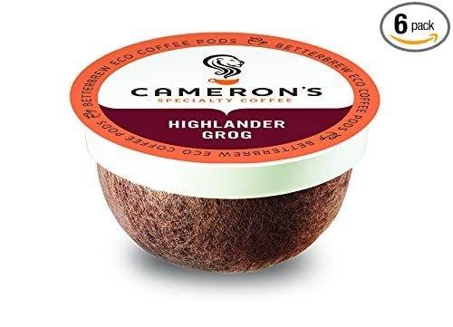 Cameron's Highlander Grog K Cup咖啡胶囊 72颗