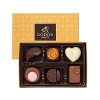 Godiva 金色礼盒6个装