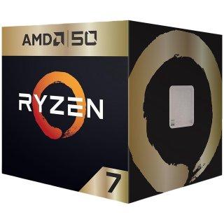 $229.99 送3个月XGP即将截止:AMD Ryzen 7 2700X AMD50周年限量版 8核 AM4 处理器