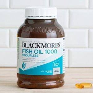 Blackmores鱼油400粒