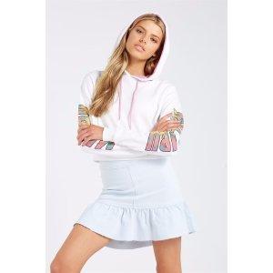 SupreSPICE FRILL 牛仔短裙
