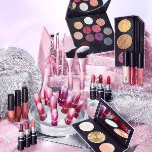 低至6折+送正装生姜高光折扣升级:MAC Cosmetics 全场美妆热卖 收子弹头口红、尤雾唇釉