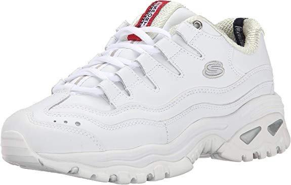 老爹鞋纯白色