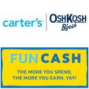 Get $10 Fun Cash When You Spent $25 @ OshKosh, Carter's and Skip Hop