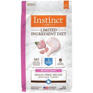 InstinctLimited Ingredient Diet Small Breed Adult Grain Free Real Turkey Recipe Natural Dry Dog Food | Petflow