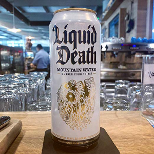 $17.59Liquid Death 独特铝罐包装矿泉水