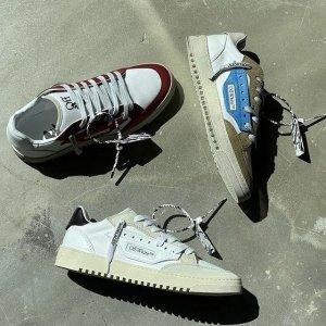 正价8.5折 新款ooo球鞋€331Off-White 人气潮牌大促 箭头卫衣、鞋子、腰带都参加