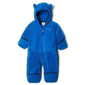 仅€19.99 多色选Columbia 哥伦比亚 羊羔毛宝宝连体衣 带耳毛也太萌啦