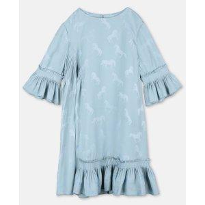 Stella McCartney蓝色印花连衣裙