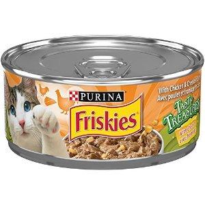 Friskiesadd-on商品鸡肉芝士猫罐头 156g