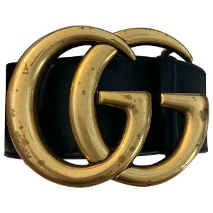 GucciGG Buckle leather belt 12 Gucci