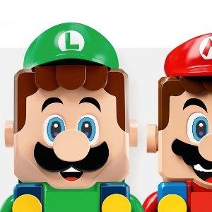 售价€59.99 预购已开启LEGO 71387 路易吉大冒险入门套组 马里奥小伙伴来啦