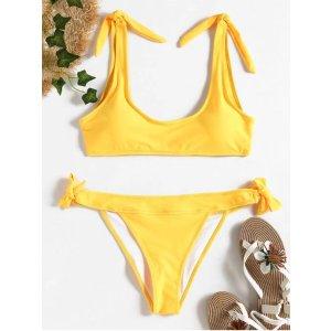 Tie Sides Bralette Bikini