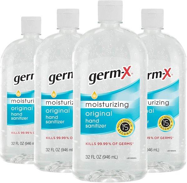 免洗洗手液,32 Ounce,4瓶