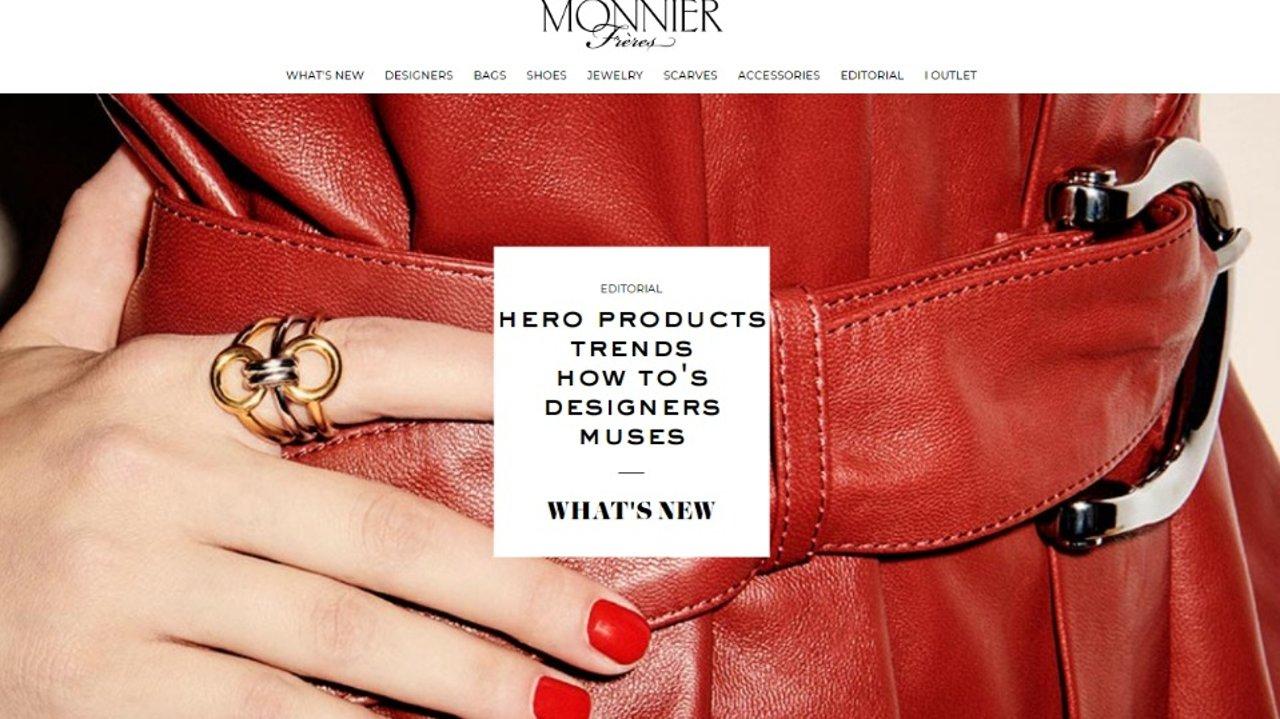 新品潮品一站get~法国奢侈品电商Monnier Frères购物攻略