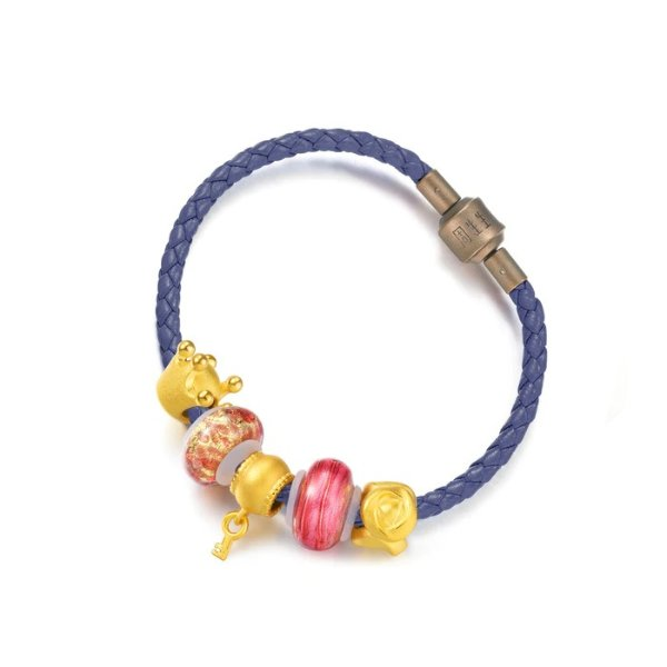 足金串珠手绳