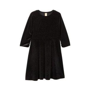 443d772b3737 Harper CanyonSparkle Velvet Dress (Little Girls & Big Girls)