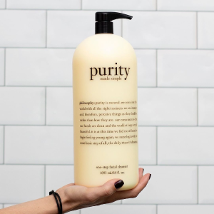 40% offPurity made simple one-step facial cleanser @ Philosophy