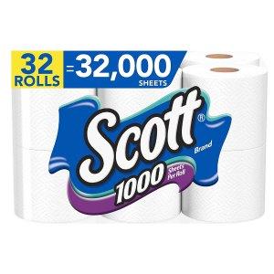 Scott 卫生纸1000片/卷 32卷