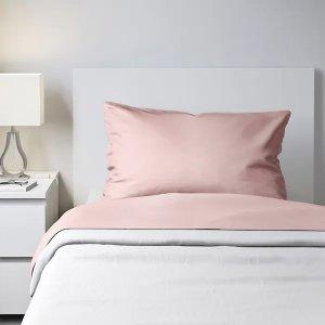 IkeaDVALA Sheet set, light pink, Twin - IKEA