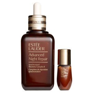 Estee Lauder小棕瓶+ 眼部精华套装:价值$288