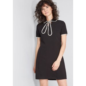 Extra 25% off orders of $125Blissfully Trimmed Knit Dress
