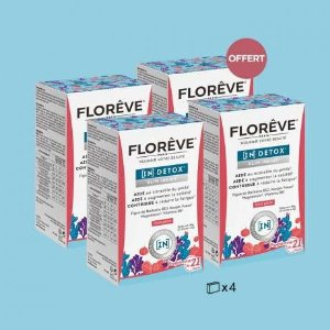 Floreve3盒价钱入4盒+8折 平均$22/盒天然仙人掌果减肥纤体冲剂 4盒