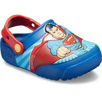 Crocs 儿童超人闪灯鞋