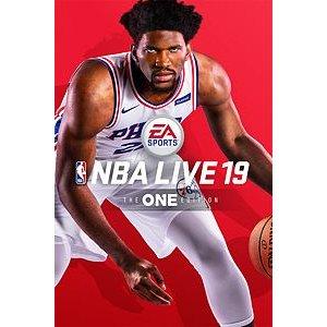 $10NBA Live 19 Xbox One版