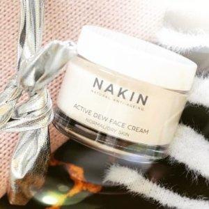 无门槛7.5折 £13收抗老眼霜Nakin 英国小众高端有机护肤产品热卖 敏感肌的福音