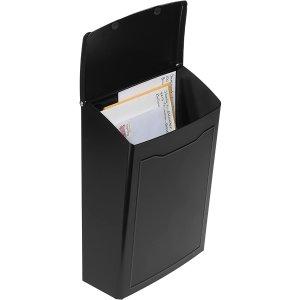 $12.25(原价$32.03)史低价:Architectural Mailboxes 黑色小号墙上信箱